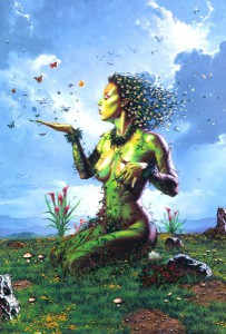 how I imagined mother nature as a teenager (source: www.iconoclastpress.com)