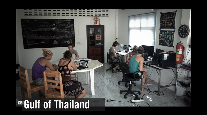 About the state of health of the Gulf of Thailand (4)