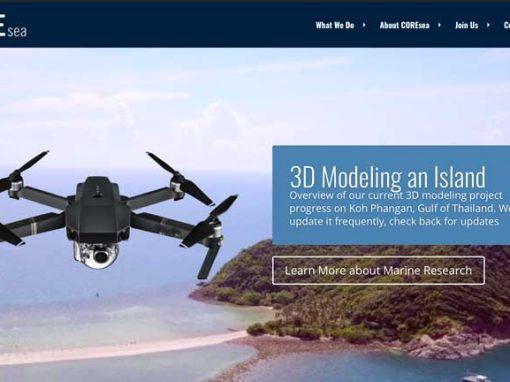 3D modeling an island